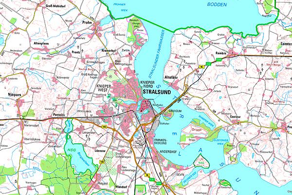Gebietskarten