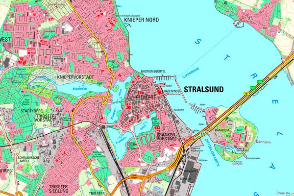 Höhenmeter Karte Deutschland.Topographische Karten